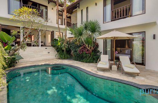 Villa Penari - Pool and villa