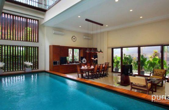 Aswattha Villas - Pool In Door