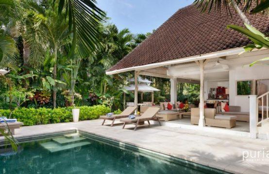 Villa Rama Sita - Pool and Living Space