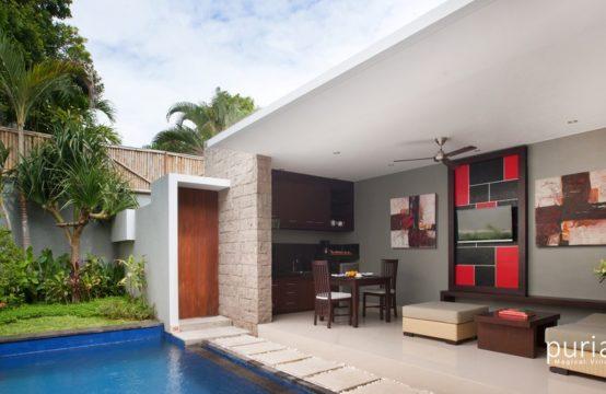 Samaja Villas Beachside - Living and Dining