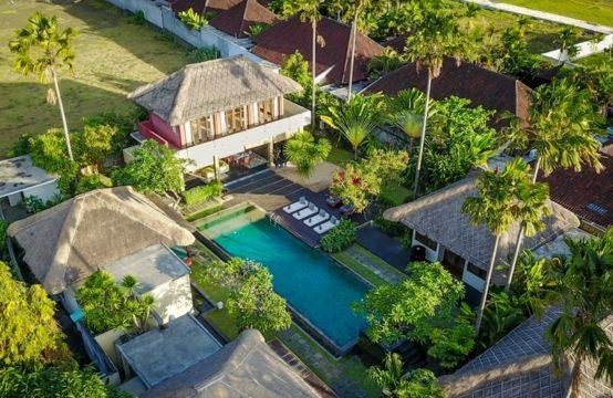 Villa Mahesa - from Above