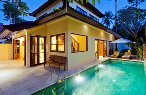 Pyaar Villa - Pool at Night